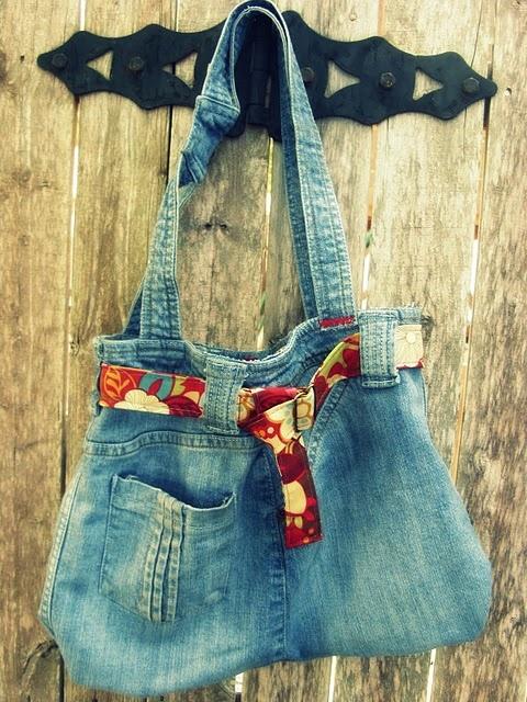 Сумки из старых джинсов своими руками