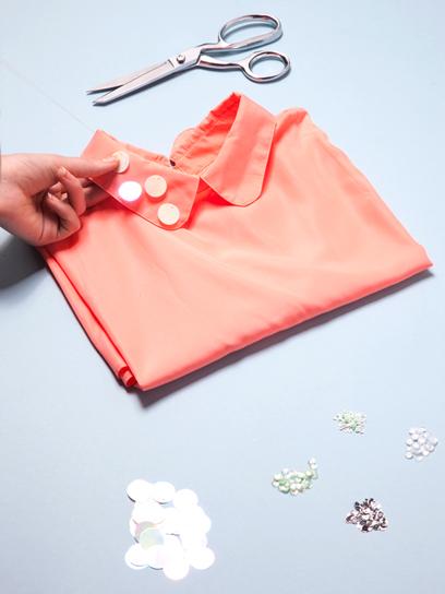 мастер класс Как украсить воротник платья или блузки