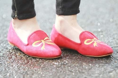 С чем носить туфли лоферы фото