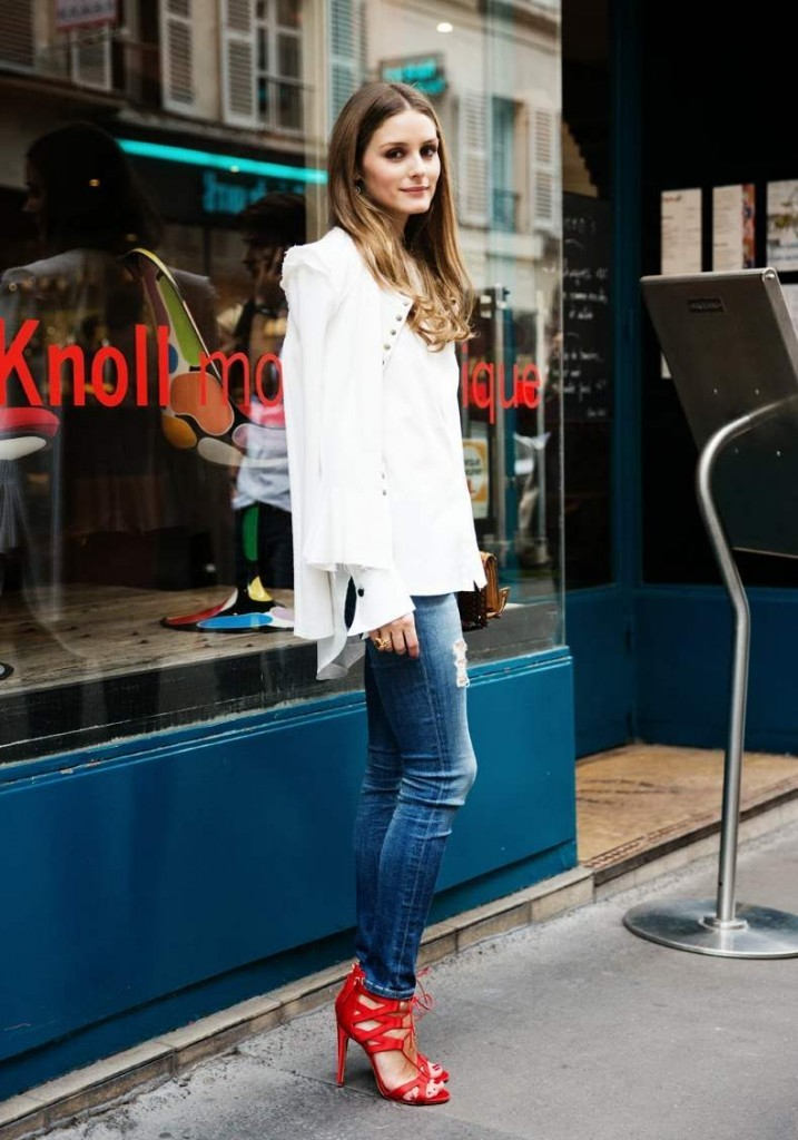 Уличный Стиль одежды Оливии Палермо фото