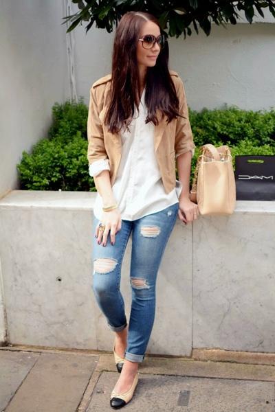 джинсы кожаная косухка