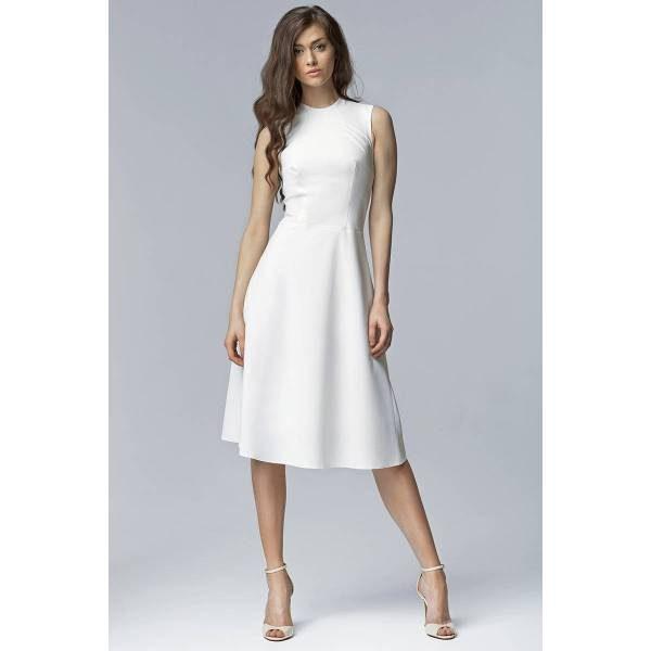 nife s62 sukienka ecru