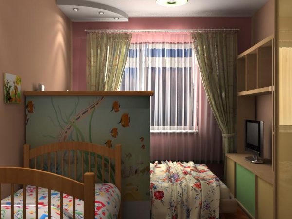 Как зонировать одну комнату на детскую и спальню родителей? Простые советы для всех!