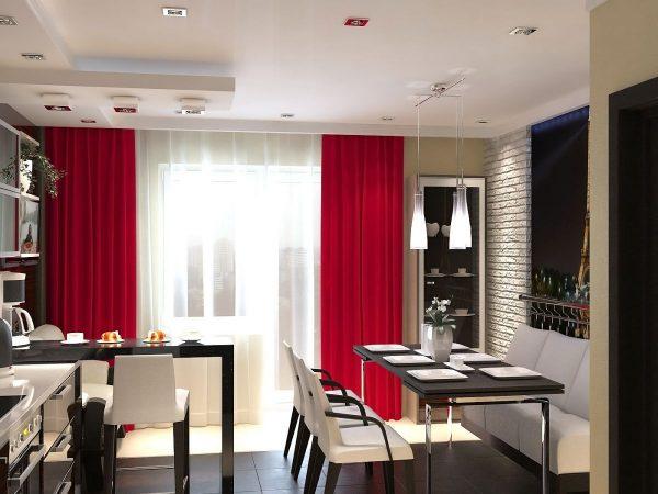 шторы на кухню