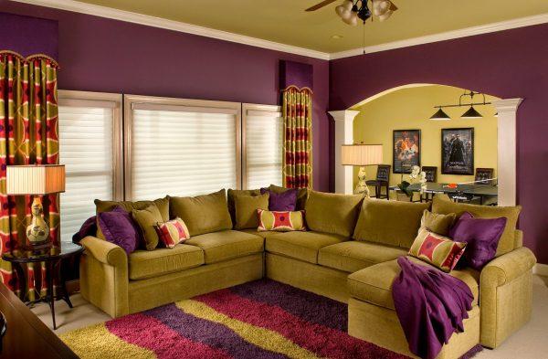 цвета в гостиной