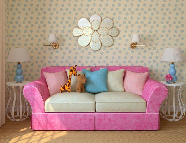диван для девочки