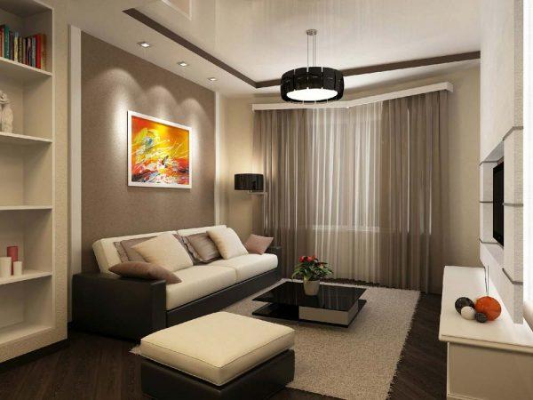 Однокомнатная квартира может быть просторной и уютной!