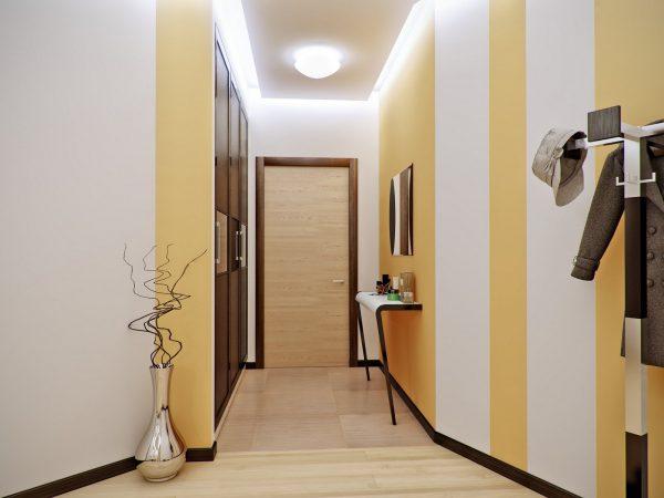 ремонт в маленьком коридоре