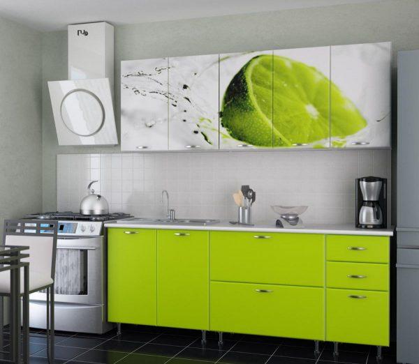 зеленая кухня