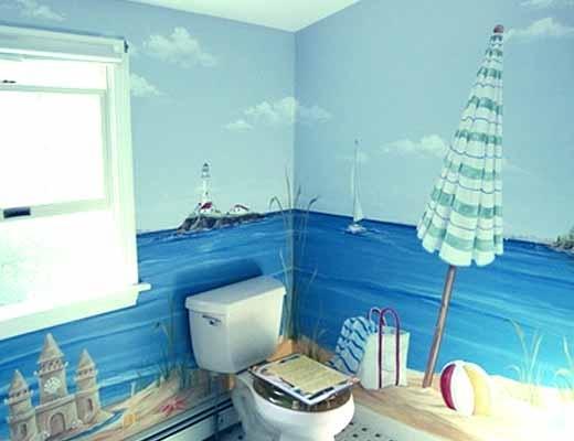 как расширить ванную комнату с помощью дизайна