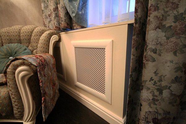 Идеальная эстетика интерьера или о том, как скрыть радиаторы отопления