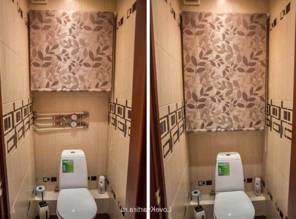 Полезные советы, которые помогут спрятать трубы в туалете