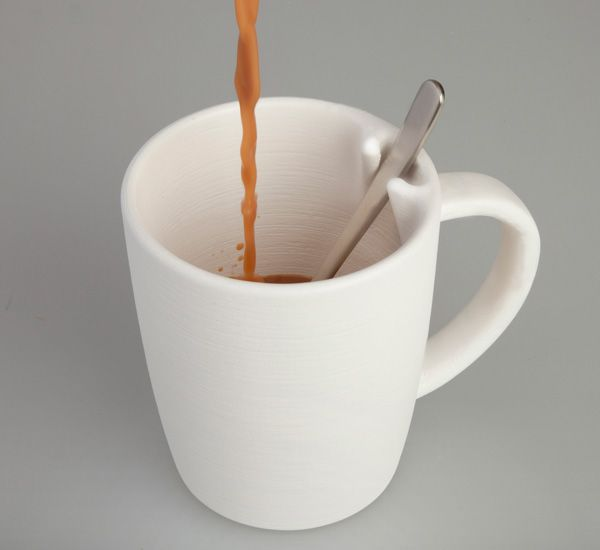 Ложка в чашке