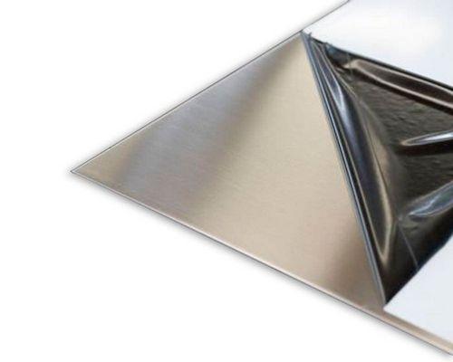 Лист стальной зеркальный: где применяется?