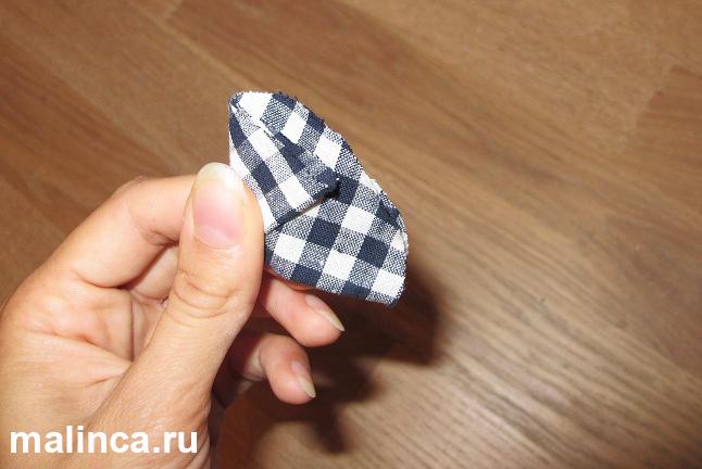 мастер класс Как сделать цветок из ткани своими руками