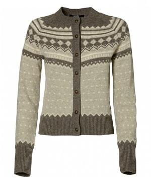 с чем носить норвежский свитер