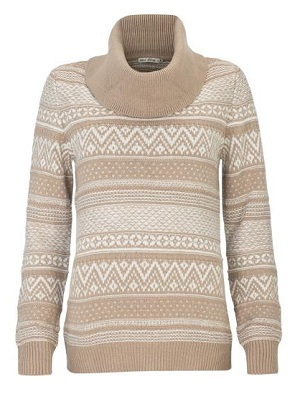с чем носить свитер с норвежским рисунком