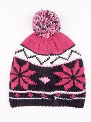 с чем носить шапку с норвежским рисунком