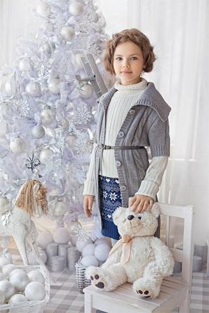 детский норвежский свитер