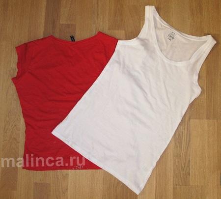 Как украсить футболку своими руками, переделка футболки