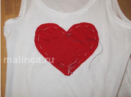 мастер класс как украсить футболку своими руками, переделка футболки