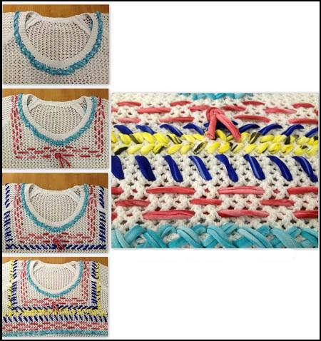 идеи как украсить свитер, переделка свитера
