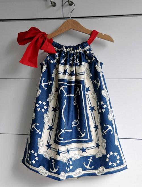 Мастер класс летнего детского платья