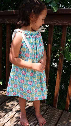 Как сшить детское летнее платье наволочка легко