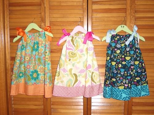 Как сшить детское платье на лето
