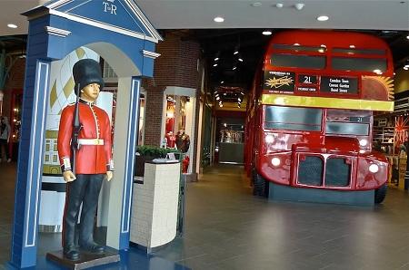 шопинг в Бангкоке торговый центр Терминал 21 зал Лондон