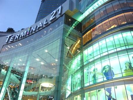 шопинг в Бангкоке торговый центр Терминал 21