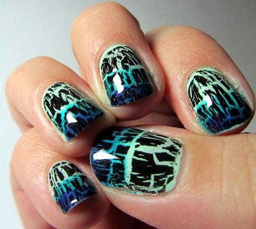 Идеи новогоднего маникюра, рисунок на ногтях на новый год