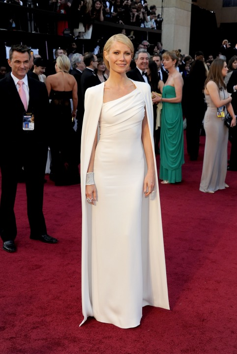15 лучших платьев года Гвинет Пэлтроу в Tom Ford.