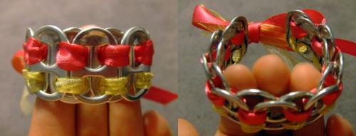 мастер класс как сделать браслет из подручных материалов