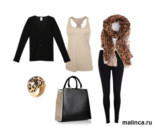 сеты с чем и как носить леггинсы зимой - сеты одежды