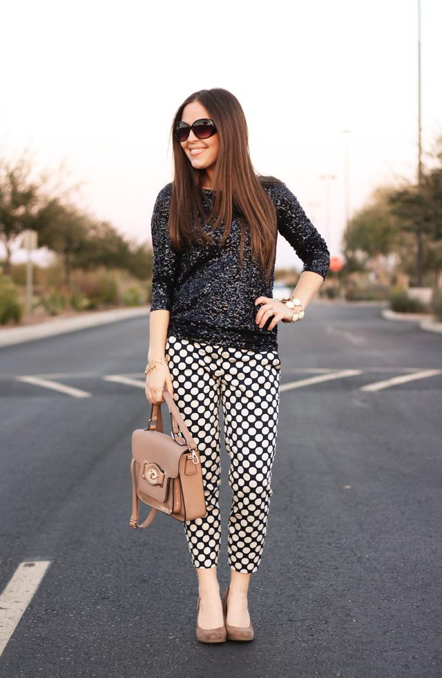 Уличный стиль: черно белая одежда