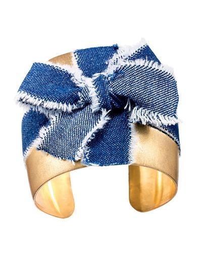 Браслет из джинсы