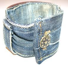 Украшения из джинсы своими руками - браслет из джинсы