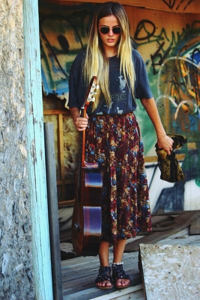 Бохо шик стиль в одежде фото