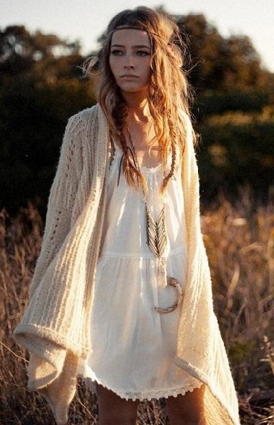 Богемный стиль в одежде фото