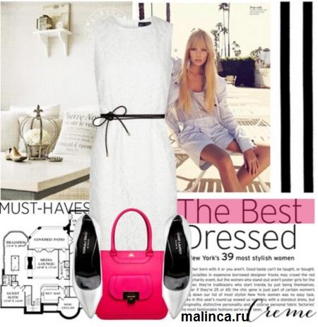 Сочетание розового цвета в одежде - сеты одежды
