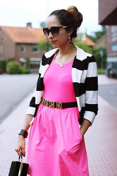 Одежда в черно белую полоску фото - полосатая одежда фото