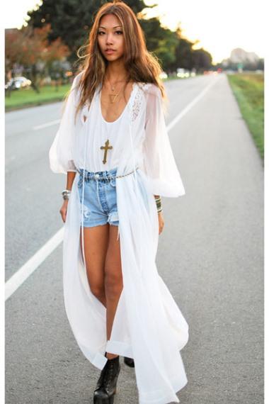 фото сочетаний одеждый белого цвета