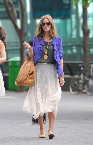 Оливия Палермо - знаменитости в одежде богемный стиль