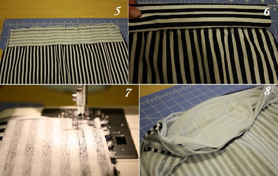 как из футболки сделать платье