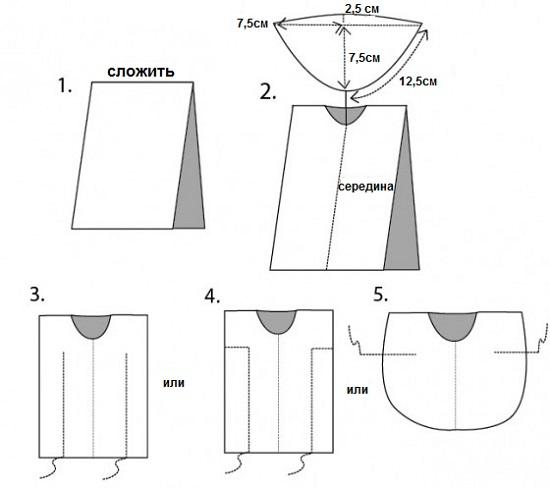 Как сшить пляжное платье своими руками для начинающих 98