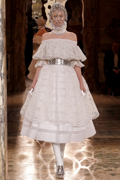 стильные платья лето 2013 Alexander McQueen
