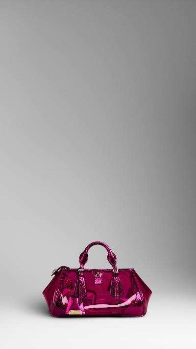Женские сумки лето 2013 фото Burberry Prorsum