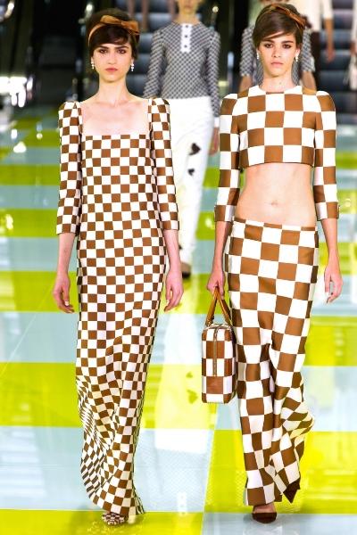 стильные платья лето 2013 Louis Vuitton