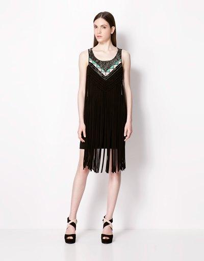 стильные платья лето 2013 bershka